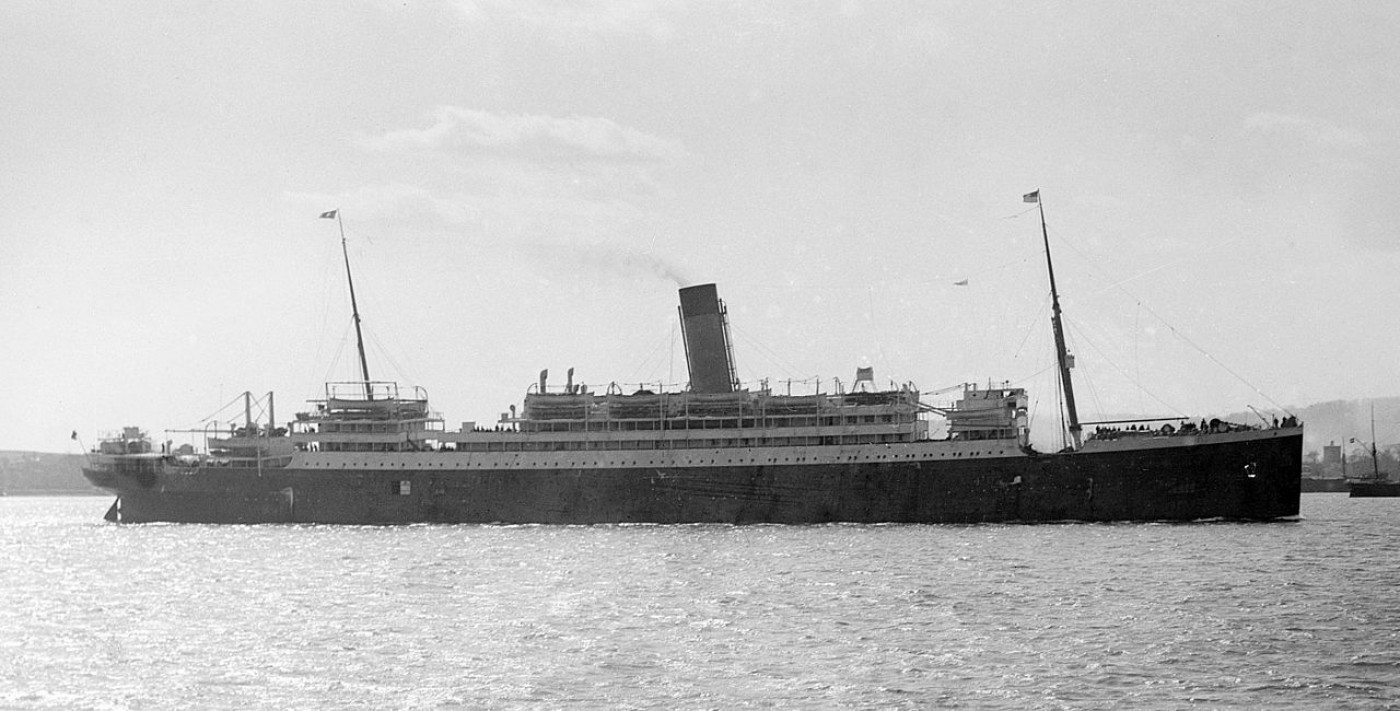 SS Megnatic, used to transport Crippen back to the UK to face trial