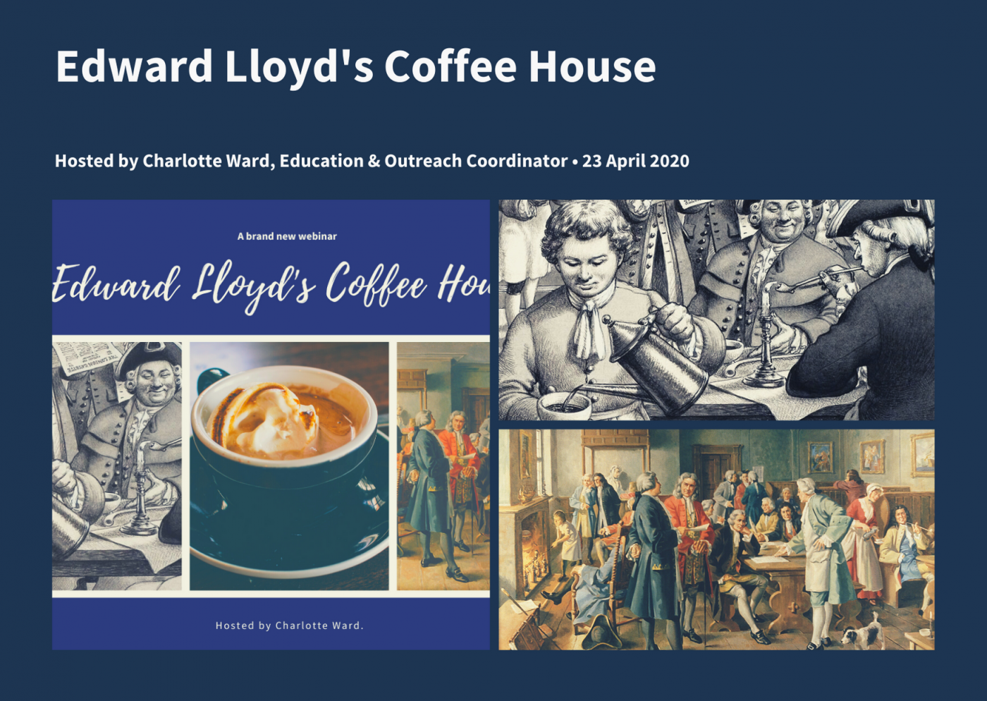 Edward Lloyd's Coffee House overview