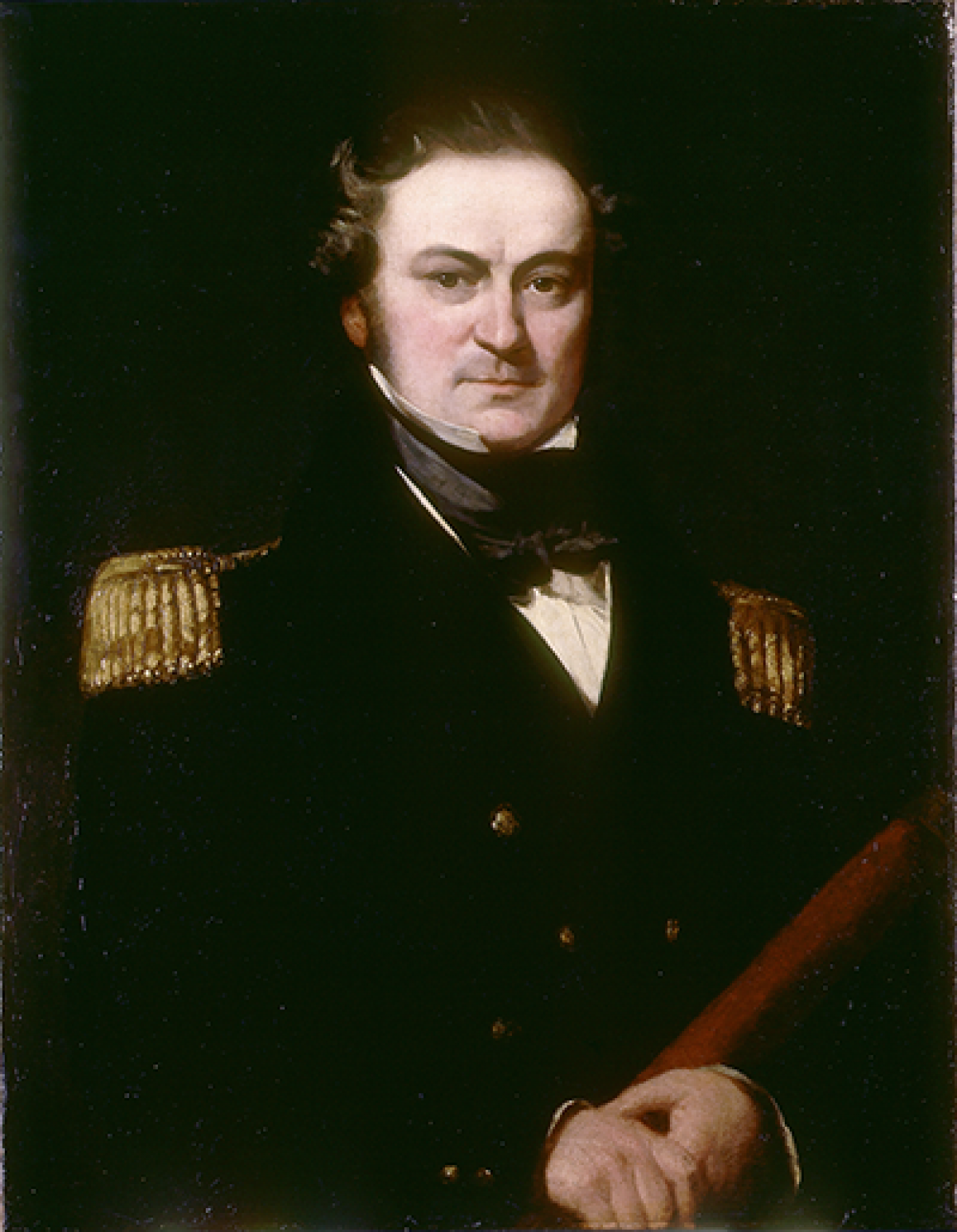 Captain William Edward Parry by Charles Skottowe