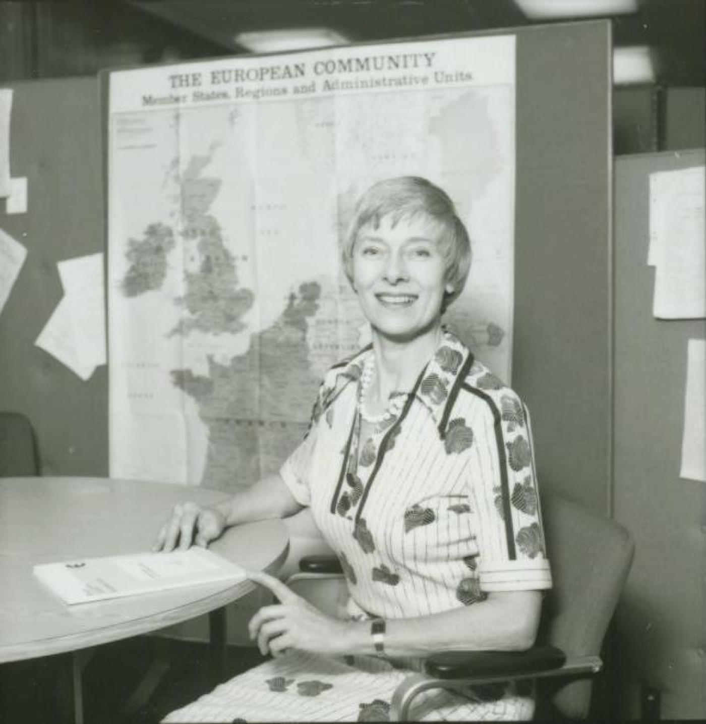 Elspeth Parkes became the Society's first Public Relations Officer