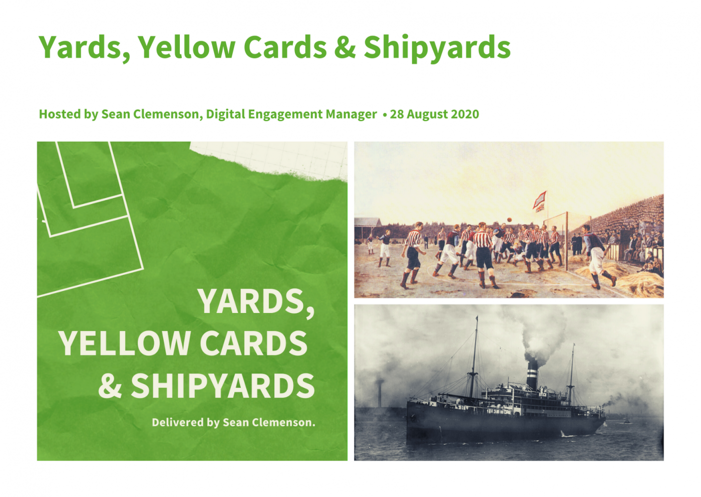 Yards Yellow Cards Shipyards webinar overview