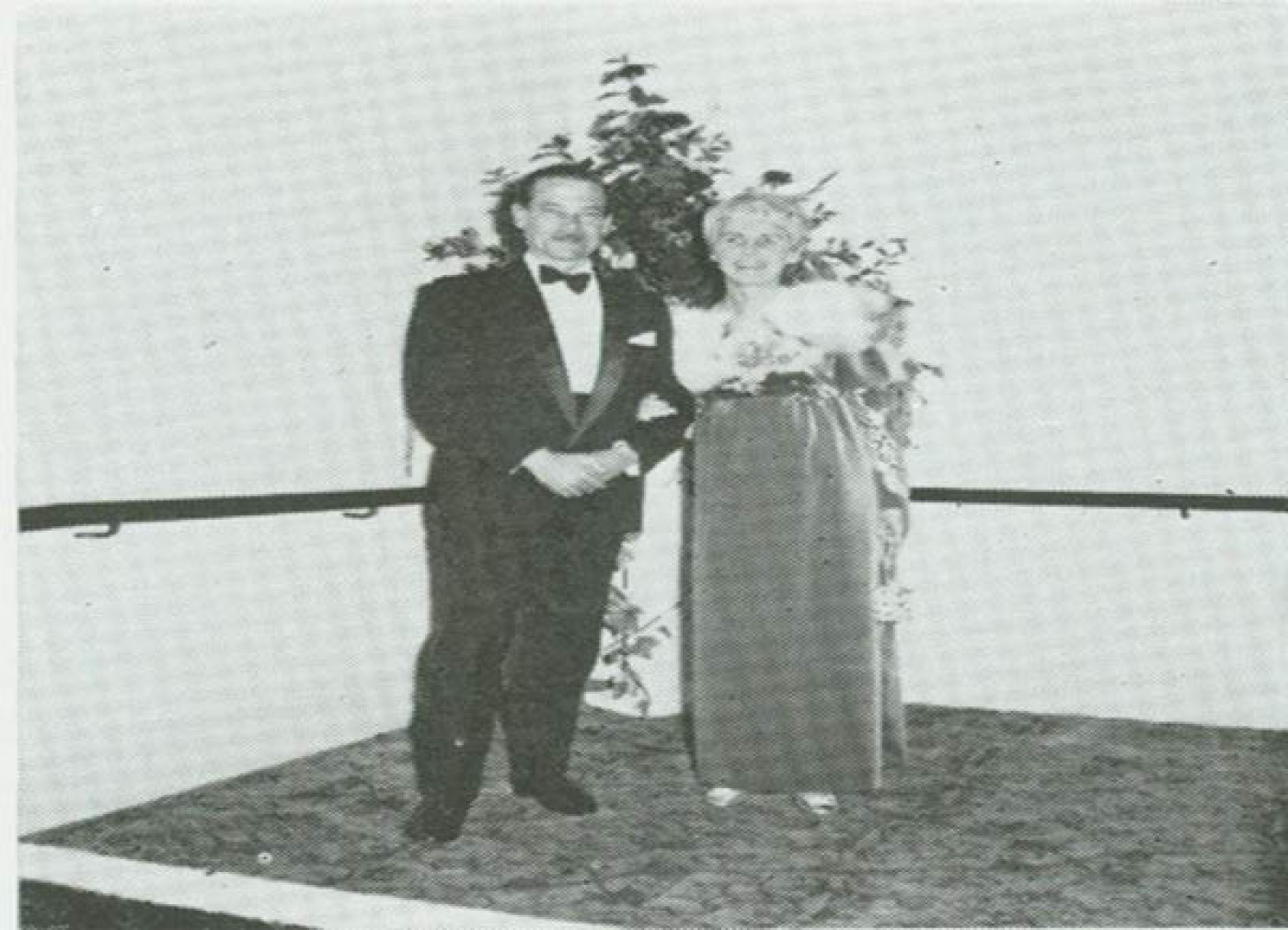 Caister Dobson and wife