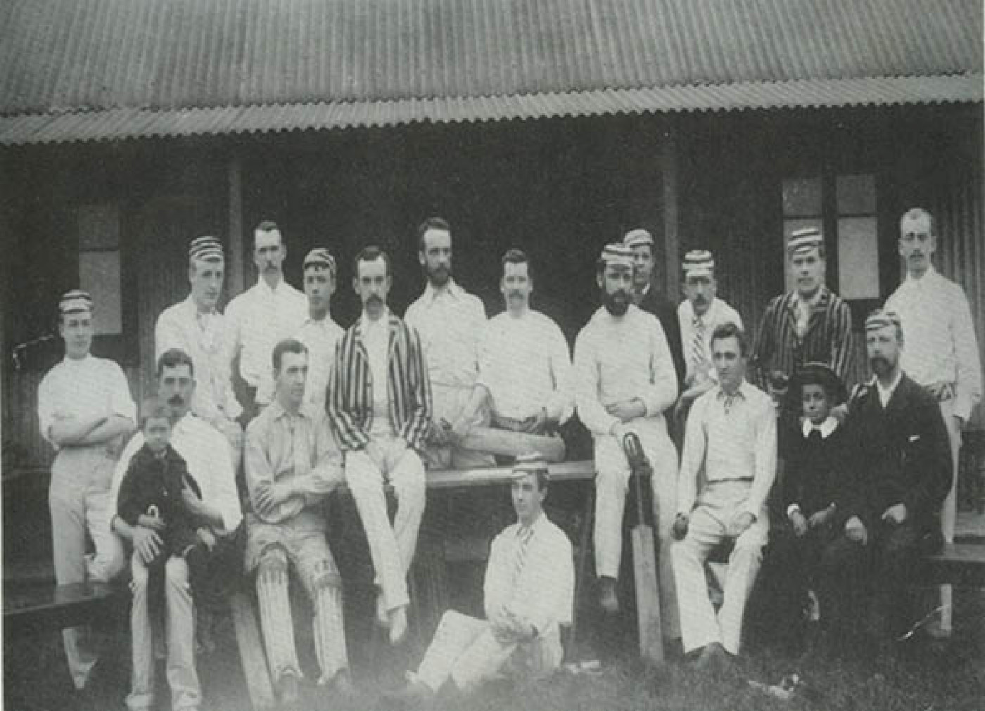 Cricket Club first XI 1897
