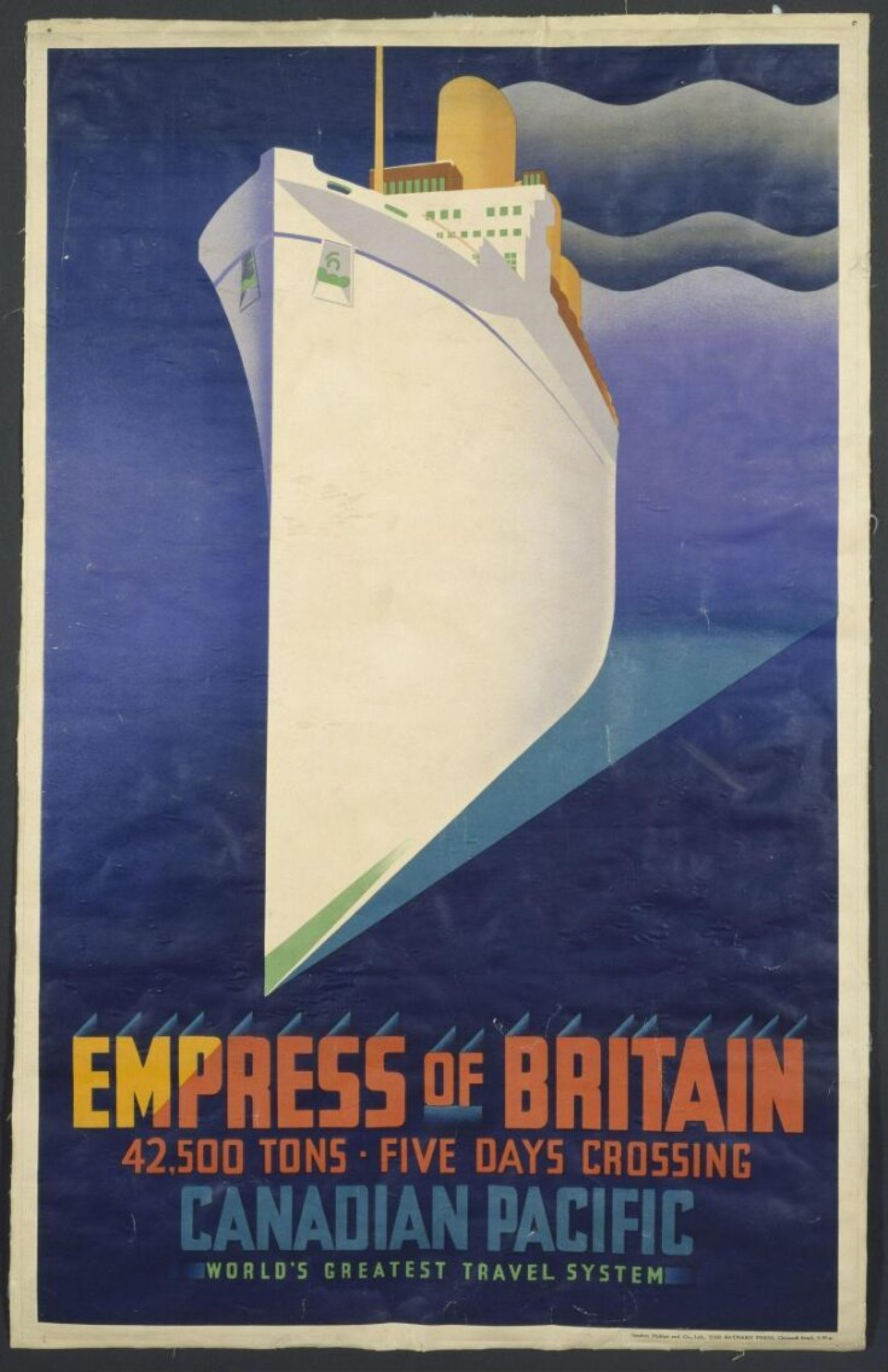 Empress of Britain poster