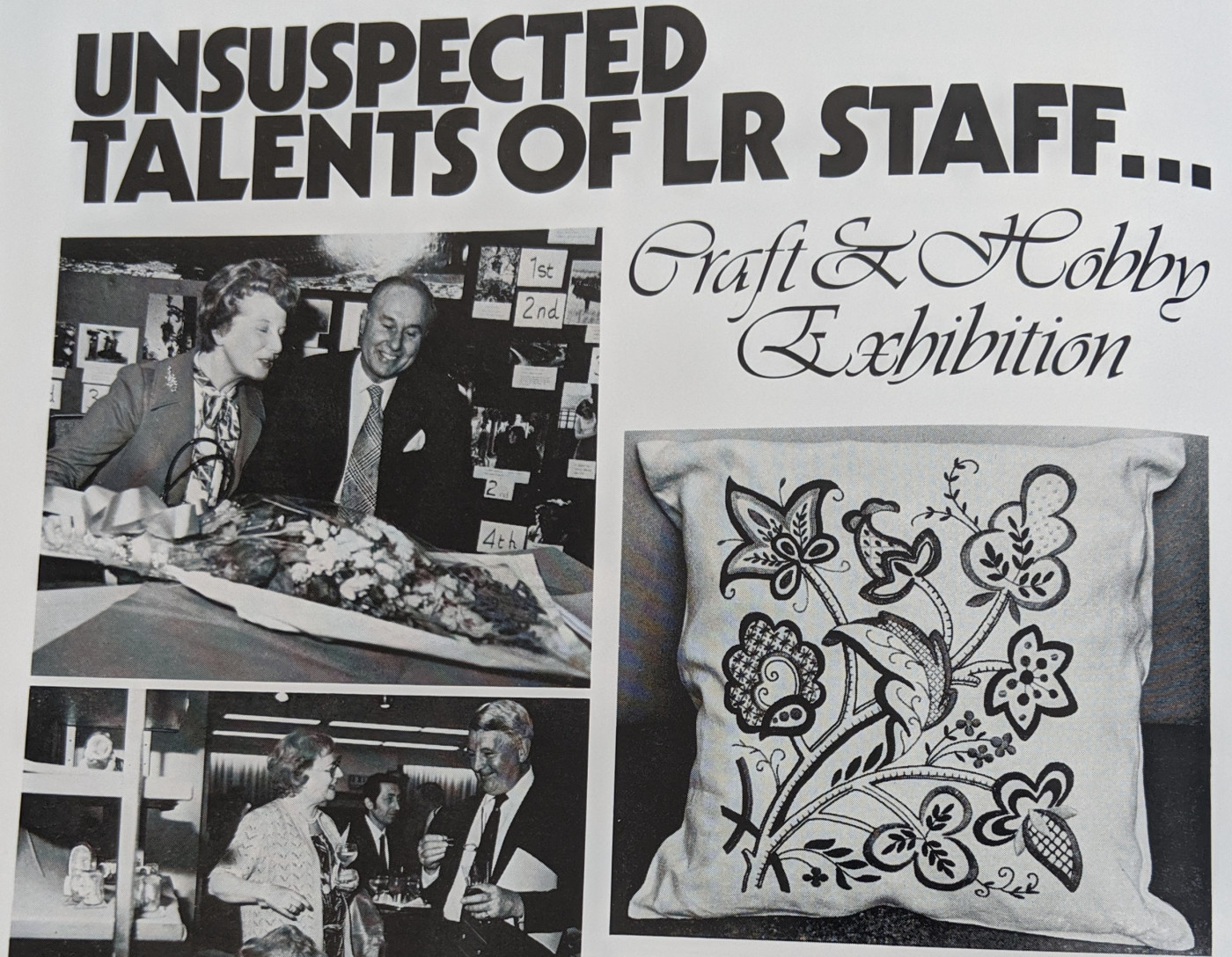 Article on the Arts & Crafts exhibition, Society Magazine 1980