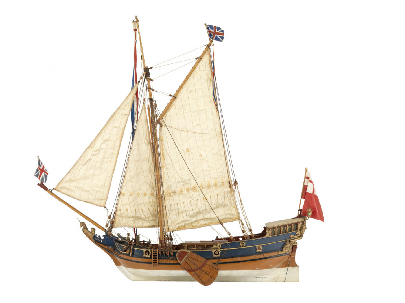 Mary (1660); Royal/ceremonial vessel; Yacht © National Maritime Museum Collections