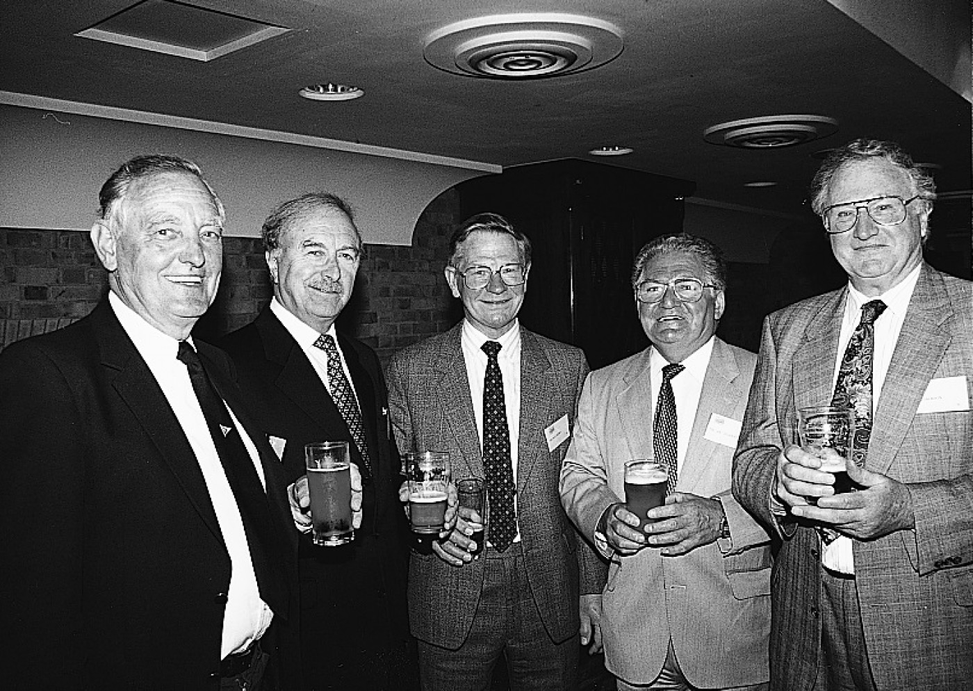 John Bolding, Harry Hodgkiss, Ray Hobbs, George Ackers and Gordon Jackson I3 1999 P15