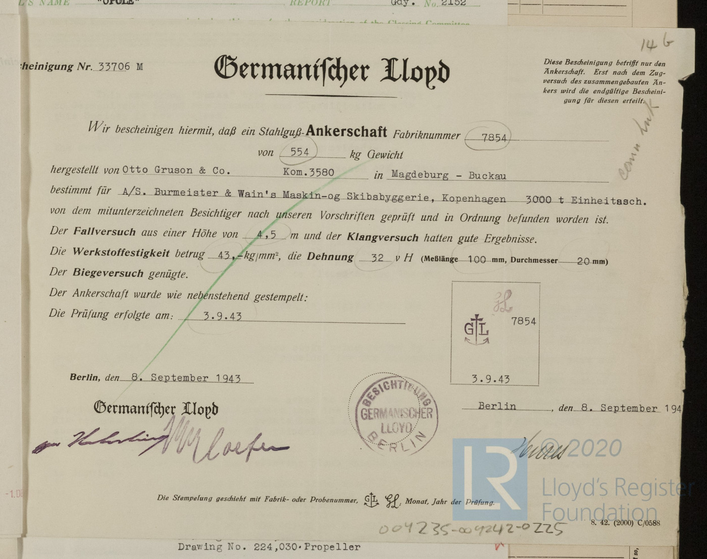 German language document