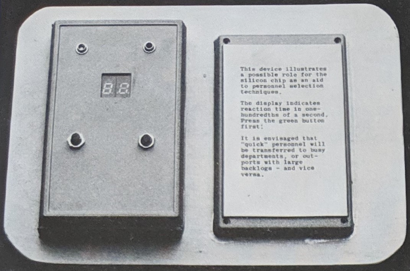 Exhibit from the 1980 exhibition