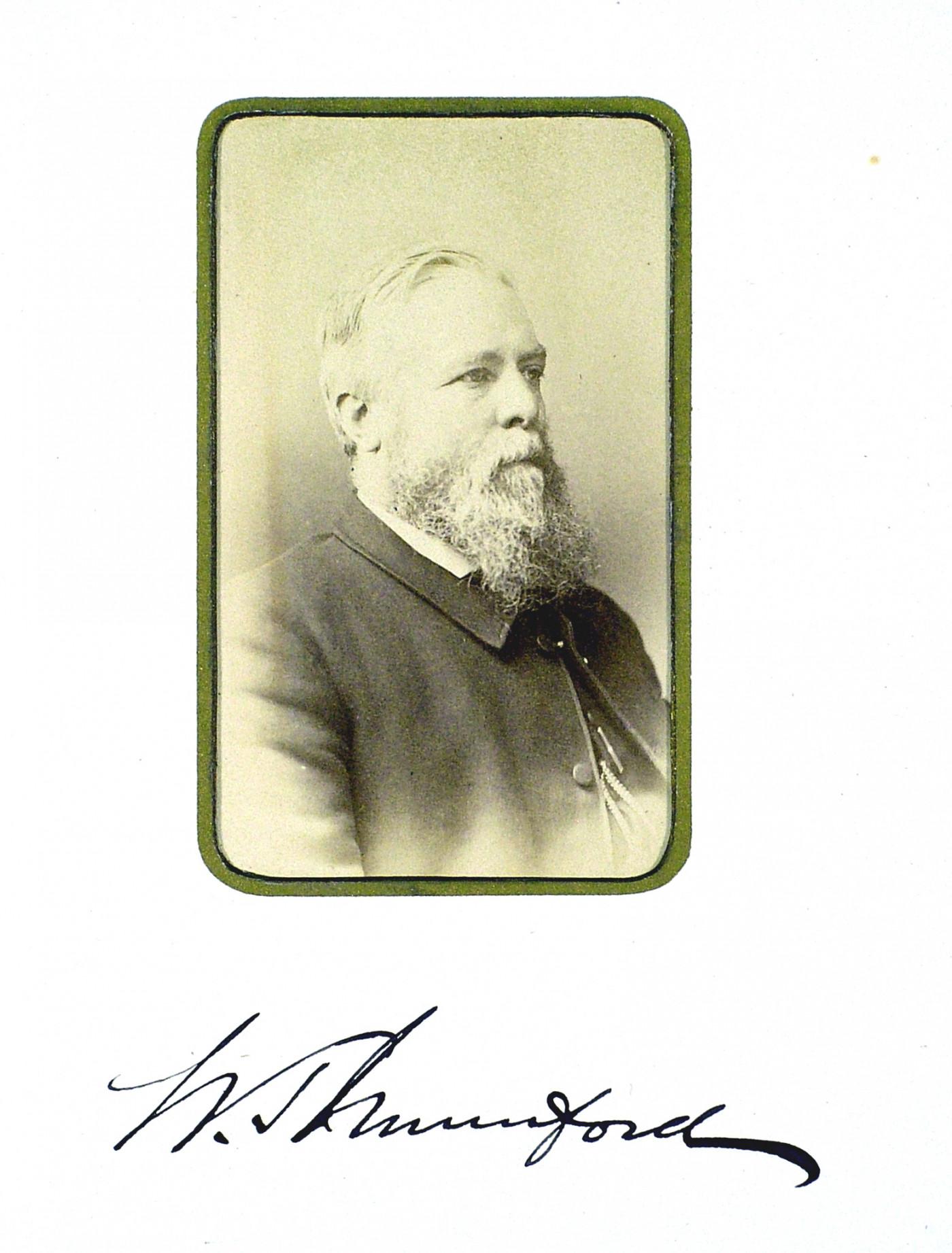 William Mumford BW address