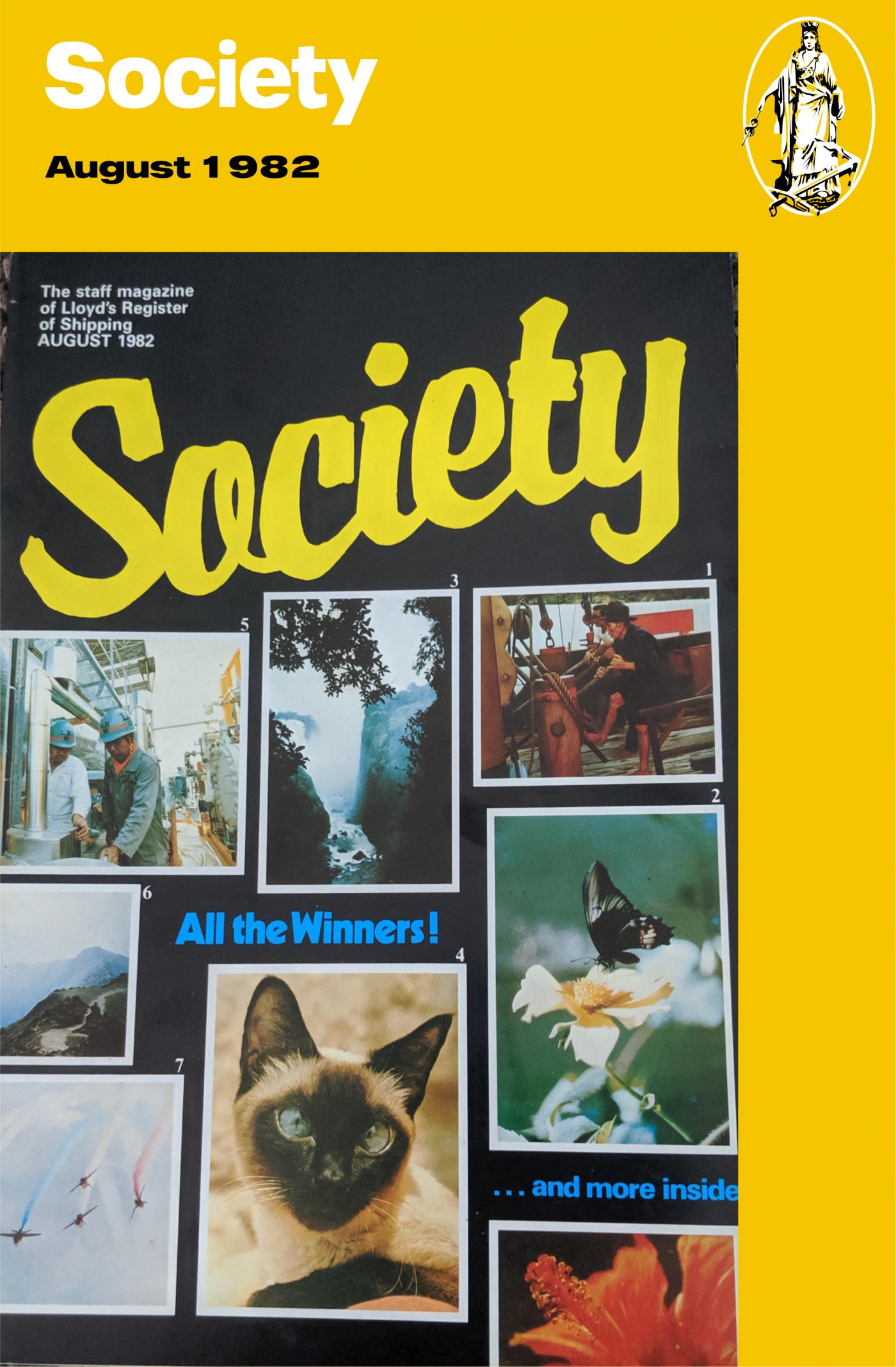 Society blog August 1982