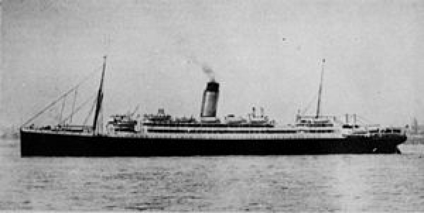 SS Laurentic, used by Inspector Dew to beat Crippen to Canada in order to capture him