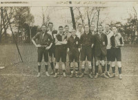 Football match at Dulwich 1919